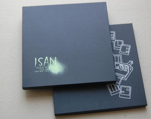 "LP Box, ""Glow in the Dark"" Farbe"