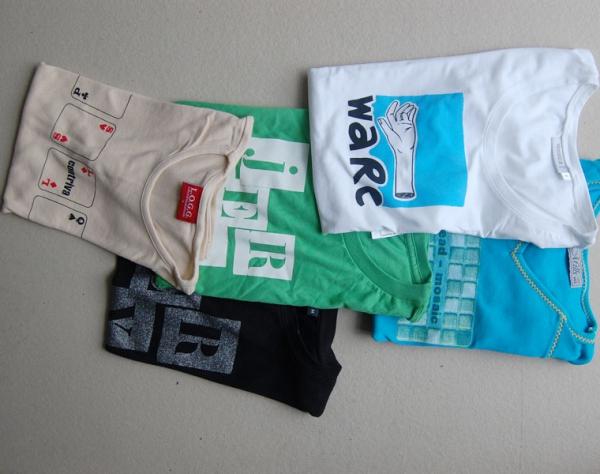 T-Shirts, Siebdruck