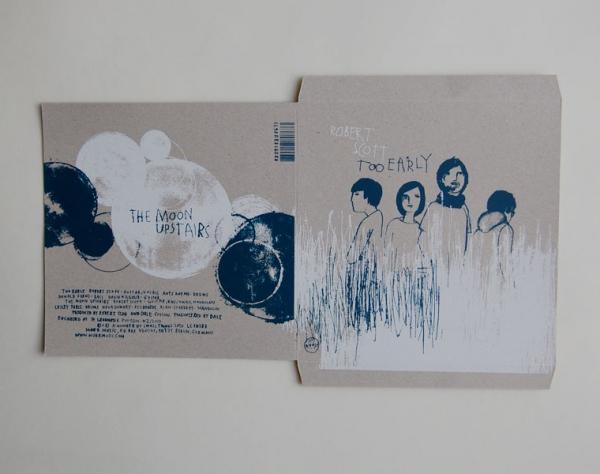 LP/CD-Cover auf gestanzten Karton