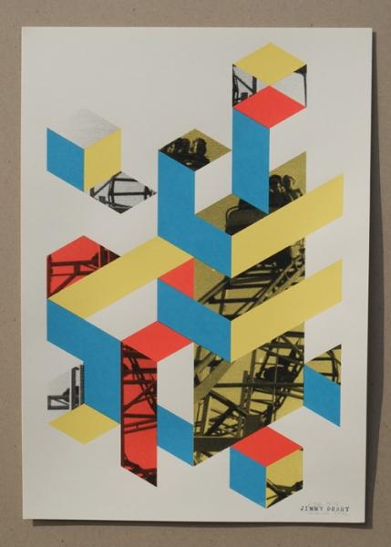 Plakat 4-farbig